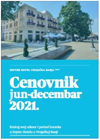 Cenovnik 2021 Zepter Hotel Vrnjačka Banja